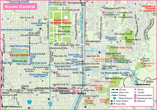 Kyoto Tourist Map Related Keywords Kyoto Tourist Map Long Tail – Kyoto Tourist Attractions Map
