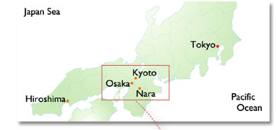 Japan National Tourism Organization For Travel Professionals - Japan map kyoto