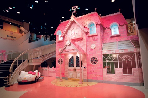 Hello Kitty House Design . There is a treat for visitors who come